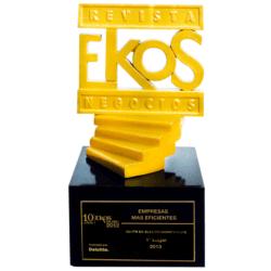 2013 EKOS de ORO para TVentas como la mejor empresa de electrodomésticos