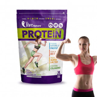 PROTEÍNA PARA MUJER 250 G LIVE NATURE