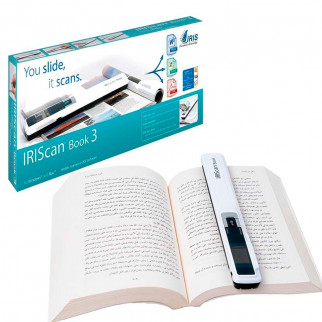 ESCANER PORTÁTIL IRISCAN BOOK 3