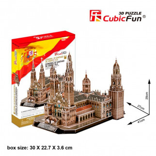 ROMPECABEZAS 3D CATEDRAL DE SANTIAGO DE COMPOSTELA