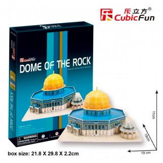 ROMPECABEZAS 3D DOME OF THE ROCK