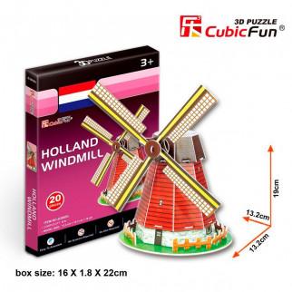 ROMPECABEZAS 3D HOLLAND WINDMILL