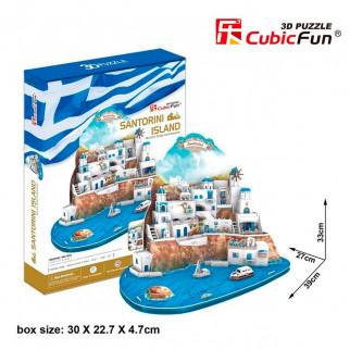 ROMPECABEZAS 3D SANTORINI ISLAND
