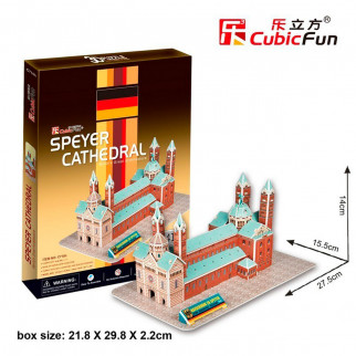 ROMPECABEZAS 3D SPEYER CATHEDRAL