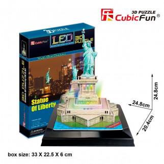 ROMPECABEZAS 3D STATUE OF LIBERTY