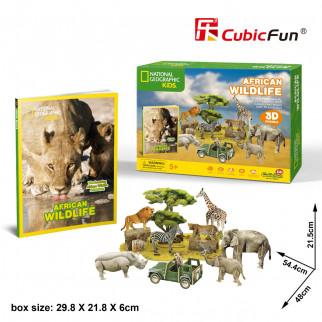 ROMPECABEZAS 3D AFRICAN WILDIFE