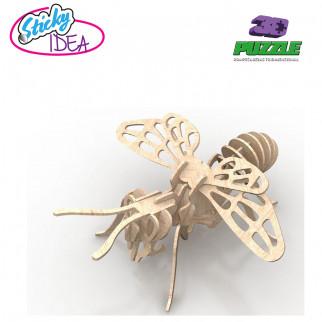 ROMPECABEZAS 3D PUZZLE STICKY IDEA ABEJA