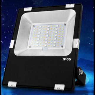 LÁMPARA DE EXTERIORES 30 W RGB + CCT LED