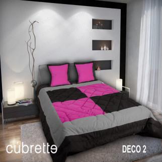 COBERTOR 1.5 PLAZAS CÚBRETTE DECO2
