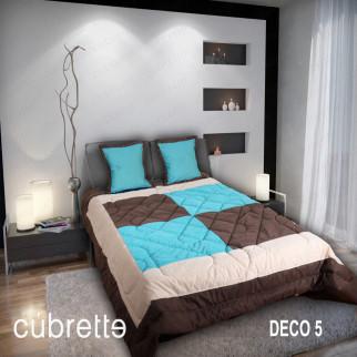 COBERTOR 1.5 PLAZAS CÚBRETTE DECO5