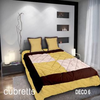 COBERTOR 1.5 PLAZAS CÚBRETTE DECO6