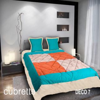 COBERTOR 1.5 PLAZAS CÚBRETTE DECO7