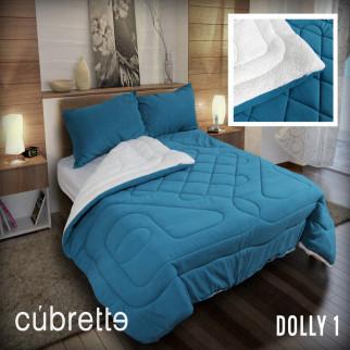 COBERTOR 1.5 PLAZAS CÚBRETTE DOLLY1