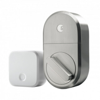 CERRADURA INTELIGENTE AUGUST SMART LOCK + CONNECT SILVER ULTRALINK