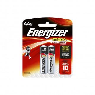 PILAS AA x 2 ENERGIZER MAX