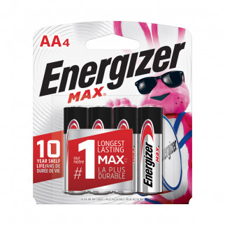 PILAS AA x 4 ENERGIZER MAX