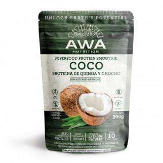 PROTEÍNA LIFESTYLE 300 G AWÁ NUTRITION COCO