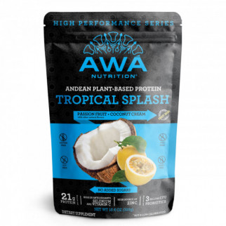 PROTEÍNA HIGH PERFORMANCE 300 G AWÁ NUTRITION TROPICAL SPLASH