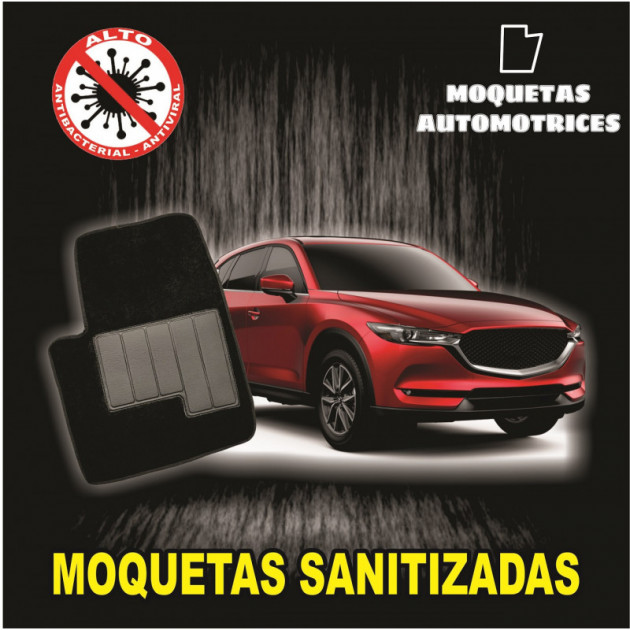 MOQUETAS AUTOMOTRICES NEGRO