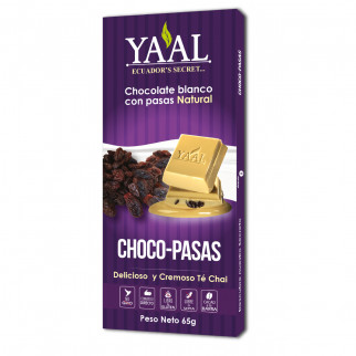 CHOCOLATE 65 G YAAL PASAS
