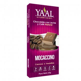 CHOCOLATE 65 G YAAL MOCACCINO